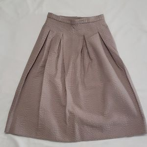 H&M A-Line Pleated Skirt
